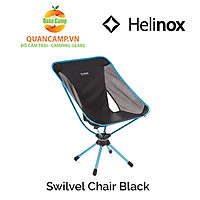 Ghế dã ngoại xếp gọn Helinox Swivel Chair Black