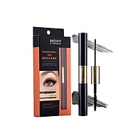 Mascara 2 đầu Browit Professional Duo Mascara 4 + 4g Sexy Black