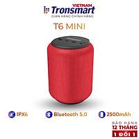 Loa Bluetooth 5.0 Tronsmart Element T6 Mini Chống nước IPX6 - 15W - Hàng chính hãng