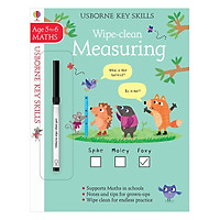 Usborne Key Skills Wipe-Clean: Measuring 5-6