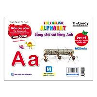 Flashcard Dạy Trẻ Theo Phương Pháp Glenn Doman - Bảng Chữ Cái Tiếng Anh (Dùng Kèm App)