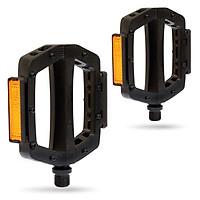 Bàn đạp hợp kim nhôm cốt chromoly trang bị đầu đinh chống trượt có thể thay thế được Jett Alloy Platform (Sealed Bearing)