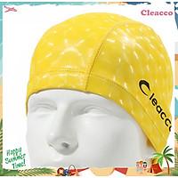 Mũ nón bơi vải PU Cleacco  ôm kín tai chuyên nghiệp , không gây khó chịu , bệt tóc với nhiều màu sắc khác nhau, hiệu ứng 3D Cleacoo phù hợp cho vận động viên chuyên nghiệp hoặc người bơi hằng ngày - Hàng Chính Hãng