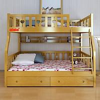 Giường tầng ALALA 1m, 1m2 - Thương hiệu alala.vn - ALALA102