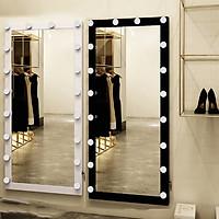 Bộ 2 gương led đen-trắng