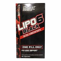 Thực phẩm chức năng hổ trợ đốt mỡ LIPO 6 BLACK Ultra Concentrate