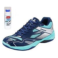 Giày thể thao Kawasaki K159 chuyên nghiệp,chính hãng (màu xanh) - Tặng bình làm sạch giày cao cấp