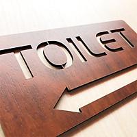 Tranh gỗ treo tường_Bảng toilet, phòng vệ sinh,WC F10_CRN_01