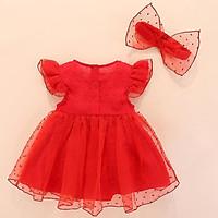 Set Đầm bé gái body sơ sinh đến 1 tuổi - đầm cho bé sơ sinh đầy tháng thôi nôi cho công chúa nhỏ đáng yêu