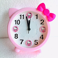 Đồng hồ báo thức để bàn YX-8875 (hồng)- Màu ngẫu nhiên