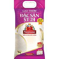[Chỉ Giao HCM] - Gạo thơm đặc sản ST24 Neptune 5kg - 70027