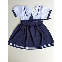 Đầm học sinh bé gái 7 (Eo 70cm, Dài váy 75cm)
