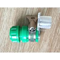 Combo 2 cút đai xiết nối ống với vòi nguồn nước