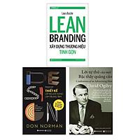 Combo Sách Marketing - Bán Hàng : Thiết Kế Lấy Người Dùng Làm Trung Tâm + Lời Tự Thú Của Một Bậc Thầy Quảng Cáo + Learn Branding-Xây Dựng Thương Hiệu Tinh Gọn