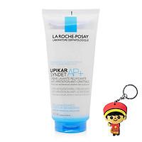 Sữa rửa mặt và tắm giảm kích ứng và ngứa Lipikar Syndet AP+ Lipid-Replenishing Anti-Irritation Anti-Scratching (200mL,tặng kèm móc khóa)