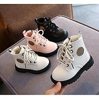 Giày cao cổ cho bé gái bé trai trẻ em giày boot siêu chất