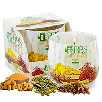Ly nến thơm tinh dầu Bartek Herbs & Spices 100g QT024480 - hương thảo mộc (giao mẫu ngẫu nhiên)
