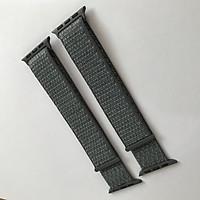 Dây đeo Sport loop cho Apple Watch màu gray bóng series 1.2.3.4