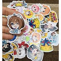 Set 30 Sticker Hero Team