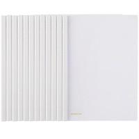 (Comix) 12 loaded transparent clip force folder / A4 folder / report folder EA10 office stationery