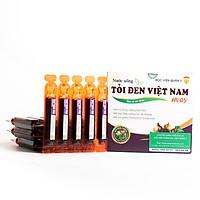 Thực phẩm chức năng Nước uống Tỏi Đen Việt Nam Học Viện Quân Y (20 ống x 10ml)