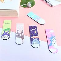 Combo 5 Bookmark Nam Châm Đánh Dấu Sách - Totoro Ánh Kim ( Mẫu Ngẫu Nhiên)