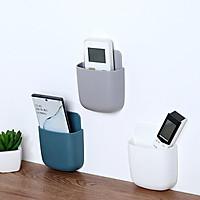 Khay gắn tường để đựng remote điều khiển máy lạnh tiện dụng - Hộp lưu trữ điều khiển từ xa treo tường