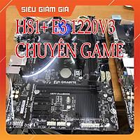 Main H81+ CPU E3 1220v3 +Ram 8g + Tặng FAN BOX