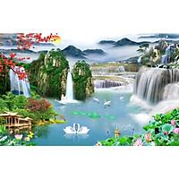 Tranh Dán Tường 3D Cao Cấp TGTV_FT3606