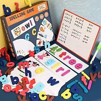 Đồ chơi Thẻ học Tiếng Anh bản nâng cấp Spelling Game KB216013, Thẻ Flashcards Tiếng Anh cho bé