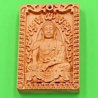 Gỗ hoàng đàn khắc Phật Thích Ca Mâu Ni MG17 - Sản phẩm phong thủy, đem lại may mắn và bình an