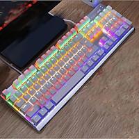 Bàn phím cơ chuyên game LANGTU G800 Led RGB nhiều chế độ - Hàng chính hãng