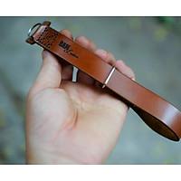 Dây máy ảnh đeo tay Handstrap da bò nâu đỏ cao cấp – RAM Handstrap - Hàng chính hãng