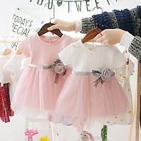 VN51 Size70-100 (4-16kg) đầm cho bé gái 1 tuổi đến 3 tuổi Thời trang trẻ Em hàng quảng châu