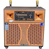 Loa tủ loa kéo bình và điện 3 tấc full đôi PA - 9500 BellPlus (hàng chính hãng)  1 cái