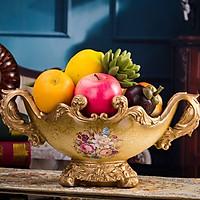 Khay đựng bánh kẹo phong cách Tân cổ điển - Decor trang trí đẹp (Giao màu ngẫu nhiên)
