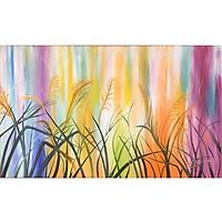 Tranh sơn dầu sáng tác vẽ tay: Thủy lau