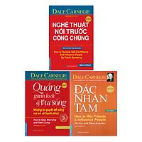 Combo Hộp Sách 3 Cuốn (Đắc Nhân Tâm + Quẳng Gánh Lo Đi Và Vui Sống + Nghệ Thuật Nói Trước Công Chúng)