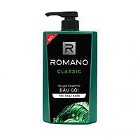 Dầu gội cao cấp Romano Classic cổ điển lịch lãm tóc chắc khỏe 650gr