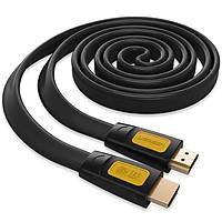Cáp HDMI 10m Sợi Dẹt Hỗ Trợ 4Kx2K Ugreen 11183 - Hàng Chính Hãng