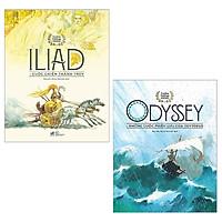Combo Thần Thoại Vàng: ILiad Cuộc Chiến Thành Troy + Odyssey Những Cuộc Phiêu Lưu Của Odysseus (Bộ 2 Cuốn)