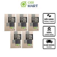 Combo 5 Gạo Hữu Cơ Ecoba Huyền Mễ - Ecoba Organic Black Rice 1kg