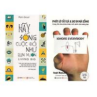 Combo Sách Kỹ Năng Sống: Hãy Sống Cuộc Đời Như Bạn Muốn + Phớt Lờ Tất Cả & Bơ Đi Mà Sống