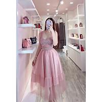Đầm xoè dự tiệc công chúa TRIPBLE T DRESS- Size M/L (kèm ảnh/video thật) MS206V