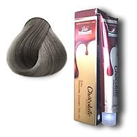 Thuốc nhuộm tóc màu xám khói hương Socola (9.11) 123 Chocolate Color Cream 100ml