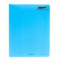 Sổ ESPP A4 80P - Mẫu 2 - Màu Xanh