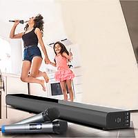 Loa Soundbar 5.1 Bluetooth Hát Karaoke AMOI L5 Tặng 02 Micro Không Dây AZONE