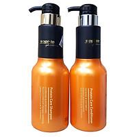 Bộ dầu gội xả Sophia Platinum Protein Care siêu dưỡng cho tóc yếu gãy rụng Hàn Quốc 500mlx2