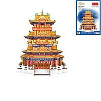 Đồ chơi lắp ghép gỗ 3D Mô hình Capital Pavilion HG-J009 Laser