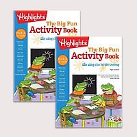 Sách Big Fun Activity Book Pre K - sẵn sàng cho bé tới trường( bộ 2 cuốn, 2 - 4 tuổi )